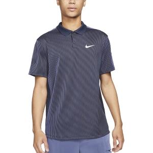 Polo Tenis Hombre Nike DriFIT ADV Slam Polo  Obsidian/White CV2863451