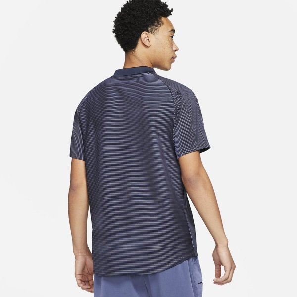 Nike Dri-FIT ADV Slam Polo - Obsidian/White