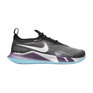Scarpe Tennis Donna Nike React Vapor NXT HC  Dark Raisin/White/Black/Copa CV0742524
