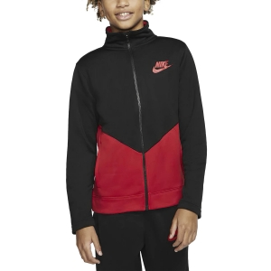 Boy Tracksuit and Hoodie Nike Sportswear Tracksuit Boy  Black/University Red CV9335010
