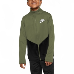 Nike Sportswear Chándales Niño - Medium Olive/Black/White