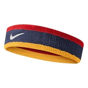 Tennis Headbands Nike Swoosh Headband  Midnight Navy/University Red/University Gold/White N.000.1544.428.OS