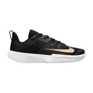 Scarpe Tennis Donna Nike Vapor Lite Clay  Black/Metallic Red Bronze/White DH2945024