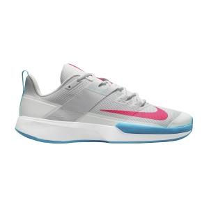 Men`s Tennis Shoes Nike Vapor Lite Clay  Photon Dust/Hyper Pink/Chlorine Blue DH2949077
