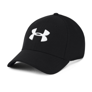 Tennis Hats and Visors Under Armour Blitzing 3.0 Cap  Black/White 13050360001