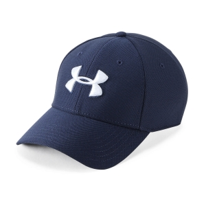 Tennis Hats and Visors Under Armour Blitzing 3.0 Cap  Midnight Navy/Graphite/White 13050360410