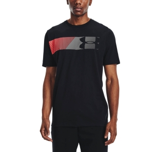 Men's Tennis Shirts Under Armour Fast Left Chest 2.0 TShirt  Black 13295840002
