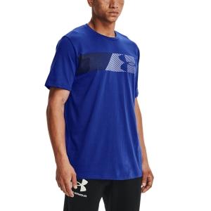 Men's Tennis Shirts Under Armour Fast Left Chest 2.0 TShirt  Royal/White 13295840400
