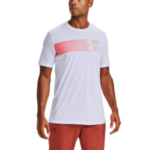 Men's Tennis Shirts Under Armour Fast Left Chest 2.0 TShirt  White/Beta 13295840102