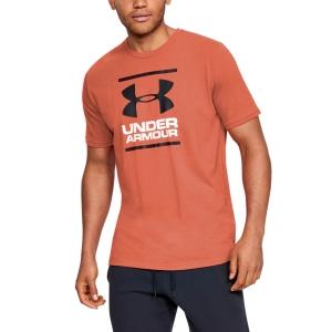 Men's Tennis Shirts Under Armour Foundation TShirt  Venom Red/Black 13268490690