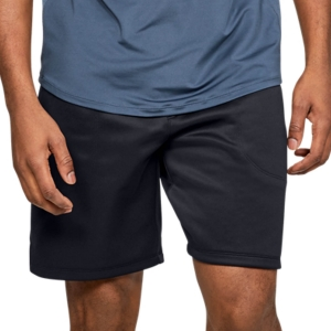 Pantalones Cortos Tenis Hombre Under Armour MK1 Warm Up 8in Shorts  Black/Pitch Gray 13452740001