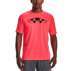 Men's Tennis Shirts Under Armour Tech 2.0 Circuit TShirt  Beta/Black 13616990628