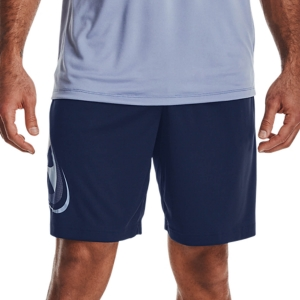 Men's Tennis Shorts Under Armour Tech Cosmic 10in Shorts  Academy/Washed Blue 13615090408
