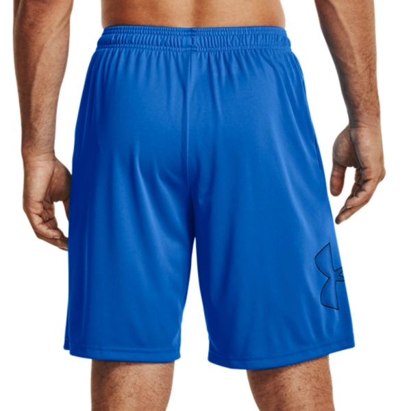 Under Armour Tech Graphic 10in Shorts - Blue Circuit
