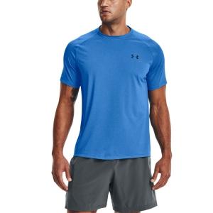 Men's Tennis Shirts Under Armour Tech 2.0 Novelty TShirt  Brilliant Blue/Academy 13453170787