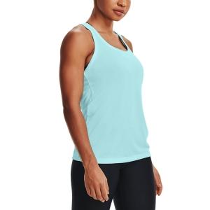 Top de Tenis Mujer Under Armour Tech Twist Top  Breeze/Metallic Silver 12754870442