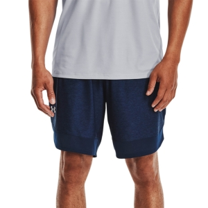 Men's Tennis Shorts Under Armour Training Stretch 9in Shorts  Academy/Mod Gray 13568580408