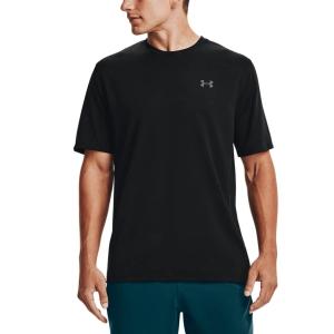 Men's Tennis Shirts Under Armour Training Vent Camo TShirt  Black 13615030001