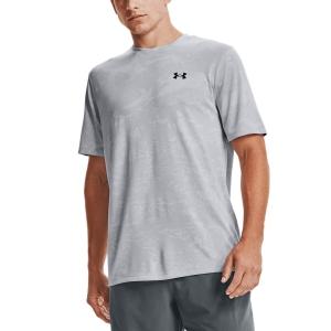 Men's Tennis Shirts Under Armour Training Vent Camo TShirt  Mod Gray/Black 13615030011