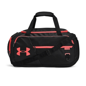 Bolsa Tenis Under Armour Undeniable 4.0 Small Bolso  Black/Venom Red 13426560005
