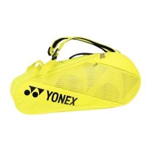 Tennis Bag Yonex Active x 6 Bag  Lime Yellow BAG82026G
