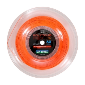 Monofilament String Yonex PolyTour Rev 1.25 Reel 200 m  Orange PTR1252BO