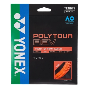 Monofilament String Yonex PolyTour Rev 1.25 Set 12 m  Orange PTGR125BO
