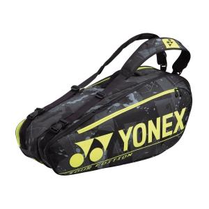 Tennis Bag Yonex Pro Tour Edition x 6 Bag  Black/Yellow BAG92026N