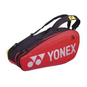 Tennis Bag Yonex Pro Tour Edition x 6 Bag  Red BAG92026R