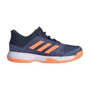 Scarpe Tennis Junior Adidas Adizero Club Bambino  Crew Blue/Screaming Orange/Crew Navy FX1482