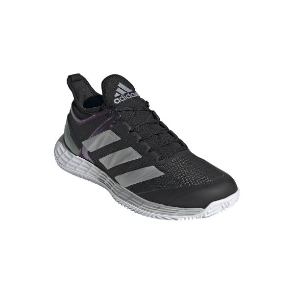 adidas Adizero Ubersonic 4 Clay - Core Black/Silver Metallic/Ftwr White