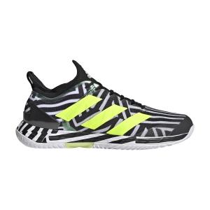 Men`s Tennis Shoes adidas Adizero Ubersonic 4  Core Black/Solar Yellow/Ftwr White G55454