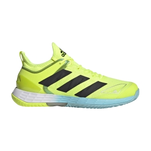 Men`s Tennis Shoes adidas Adizero Ubersonic 4  Solar Yellow/Core Black/Hazy Sky FX1365