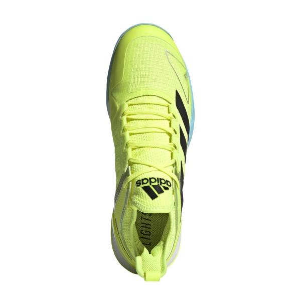 adidas Adizero Ubersonic 4 - Solar Yellow/Core Black/Hazy Sky