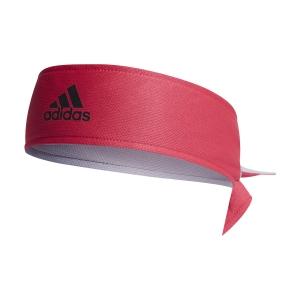 Bandas Tenis Adidas Aeroready Logo Banda  Power Pink/Glory Grey/White GH7371