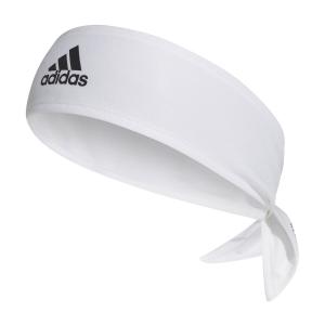 Fasce Tennis Adidas AEROREADY Logo Fascia  White/Black/Scarlet GE1981