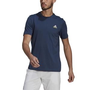 Men's Tennis Shirts adidas Melbourne TShirt  Crew Navy GN8069