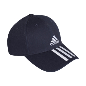 Tennis Hats and Visors Adidas Baseball 3 Stripes Cap  Legend Ink/White GE0750