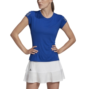 Camisetas y Polos de Tenis Mujer Adidas Club 3 Stripes Camiseta  Team Royal Blue FU0875