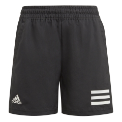adidas Club 3-Stripe 7in Shorts Niño - Black/White