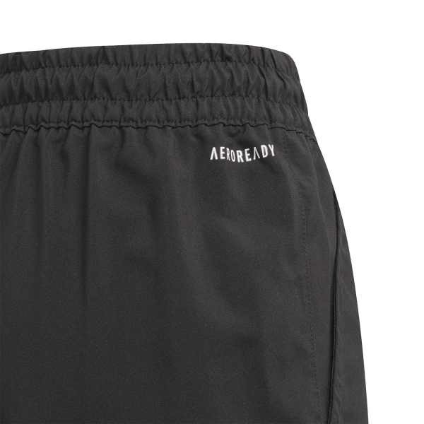 adidas Club 3-Stripe 7in Shorts Boys - Black/White
