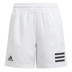 adidas Club 3-Stripe 7in Shorts Niño - White/Black