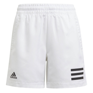 Pantalones Cortos  y Pantalones Boy adidas Club 3Stripe 7in Shorts Nino  White/Black GK8183