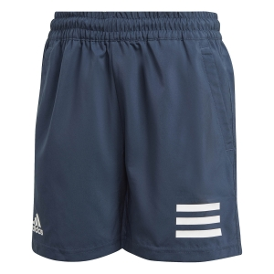 Tennis Shorts and Pants for Boys adidas Club 3Stripe 7in Shorts Boy  Crew Navy/White GK8185