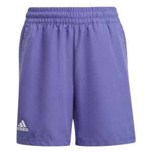 Pantaloncini e Pants Tennis Boy adidas Club 7in Pantaloncini Bambino  Purple/White GK8173