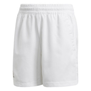Pantalones Cortos  y Pantalones Boy adidas Club 7in Shorts Nino  White/Black GK8174