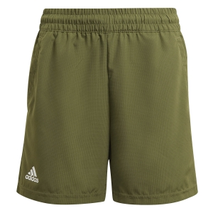 Tennis Shorts and Pants for Boys adidas Club 7in Shorts Boy  Wild Pine/White GK8175