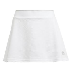 Shorts and Skirts Girl adidas Club Logo Skirt Girl  White/Grey Two GK8169