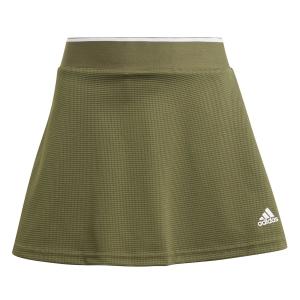 Shorts and Skirts Girl adidas Club Logo Skirt Girl  Wild Pine/White GK8171