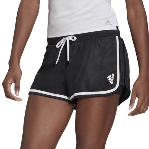 Gonne e Pantaloncini Tennis adidas Club Logo 2in Pantaloncini  Black/White GL5461